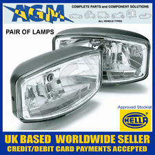 Pair of New Hella Jumbo 320FF Clear Lens Driving Lamps