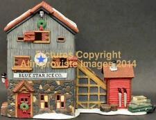 New England Dept 56 Blue Star Ice Company! 56472 NeW! Mint! FabUloUs!