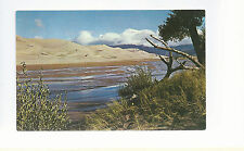 Great Sand Dunes National Monument  San Luis    CO  Unused Chrome Postcard 973