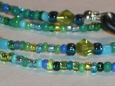 "Eyeglass Chain~Handmade~Green & Blue Mix~Different~28""~Buy 3 SHIP FREE"
