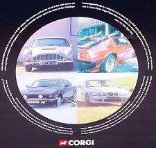 Corgi Toys 1:36 THE DEFINITIVE JAMES BOND 007 FILM CANISTER 4 CAR SET #99106 MIB