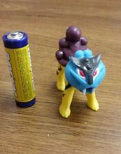 2nd Generation legendary pokemon plastic action figure Raikou 1-2 Inches In U.S