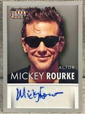 2015 Mickey Rourke Panini Americana Auto / Autograph Actor #NO. S-MR Wrestler AU