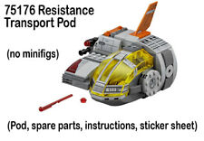 Lego Star Wars Ep 8 NEW 75176 Resistance Transport Pod no figs 2017 Last Jedi