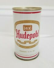 New ListingHudepohl Tab Top Beer Can by Hudepohl of Cincinnati, Oh white version circa 1968