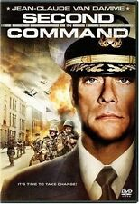 SECOND IN COMMAND (2006) DVD MOVIE *NEW* AUS EXPRESS