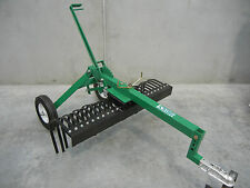 HAYES TOW BEHIND 4FT ATV LAND RAKE (QUAD BIKE/RIDE ON MOWER)