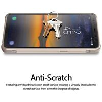 For Galaxy S8 Active Poetic [Anti-Fingerprint] Tempered Glass Screen Protector