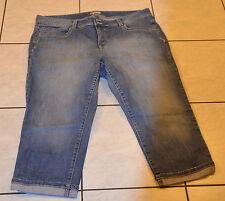 TOMMY HILFIGER -Très joli pantacourt en  jeans  Taille W42 - F52- EXCELLENT ÉTAT