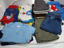 Huge lot 6-9 months toddler boys clothes pants sweaters rompers shirts jeans
