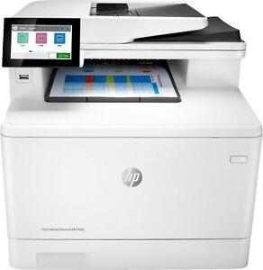 HP Color LaserJet Enterprise M480F Color All in One Printer Scanner Copier Fax
