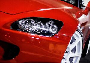 JS2k.com AP2 S2000 JDM Clear Headlight Diffusers Reflectors Honda