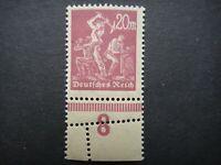 Germany 1922 1923 ERROR Stamp MNH Wmk Miners Deutsches Reich German Deutschland