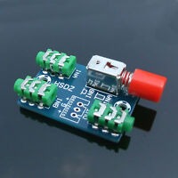 Audio Switching Board 3.5MM Audio Input A B Two Group Switch Select Input Output
