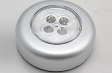 Wall Light Kitchen Cabinet GR Closet Lighting 4 LED Wireless Push Touch Lamp AU