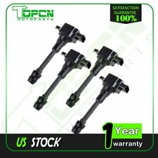 PACK OF 4 IGNITION COIL FOR 2002-2006 NISSAN SENTRA 1.8L C1397 UF351