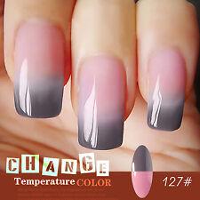 Gellen Temperature Color Change Manicure UV Led Gel Polish Nail Art Lacquer #127
