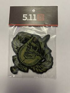 5.11 Tactical Patch Of The Month 511048 USA SOG POTM 5.11 Patch RARE