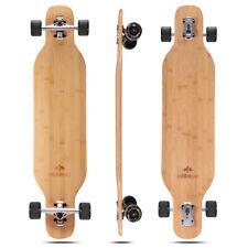 New listing DEBROO Bamboo Longboard Skateboard 40 inches
