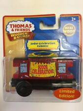 Thomas Wooden Railway NEW SODOR CELEBRATION MUSICAL CABOOSE (Dead Batteries)