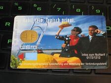 Motorola 1000 2000 Karte D-Netz D2 Privat GSM SIM-Card BIG-Size D2 Mobil sein