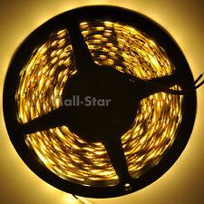 5M 300LED 5050 SMD 12V Flexible light 60LEDs/M LED strip Warm White Super Bright