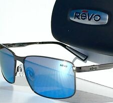 adcc134d004 NEW  REVO KNOX in Gunmetal frame w POLARIZED Blue Water Lens Sunglass 1047 00  BL