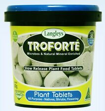Troforte Tablets 500g Langley Sunpalm Fertilizer Minerals Microbes Slow Release