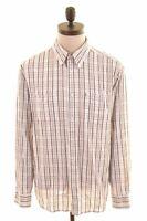 WRANGLER Mens Shirt Large Multi Check Cotton  AZ01