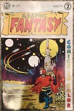 (1971) GRAPHIC FANTASY #2! Underground Comic! Comes with RARE WALLY WOOD POSTER!