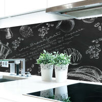 Küchenrückwand Tafelkreide Premium Hart-PVC 0,4 mm selbstklebend