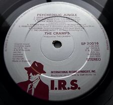 THE CRAMPS Psychedelic Jungle 1981 UK IRS 1st PRESS MINT