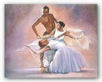 LOVE DANCING ART PRINT Enchantment 8 x 10