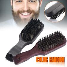 Brosse Homme Barbe Peigne Sanglier Militaire Brush Cheveux Moustache Comb