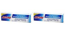Secure Denture Bonding Cream 1.4 oz (Paks of 2)