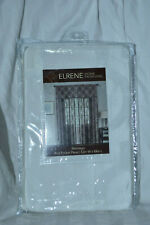 ELRENE Home Fashions Montego Rod Pocket Panel Ivory 52in W x 84in L. NIP