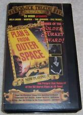 Plan 9 From Outer Space VHS Video Ed Wood Vampira Bela Lugosi Worst Movie