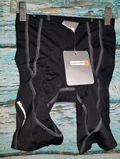 Cannondale Womens Black Padded Biking Shorts Size US P    7Y
