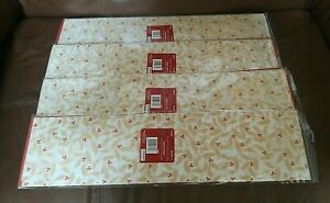 Gold Leaves and Solid Red Tissue Paper Set of 40 Sheets