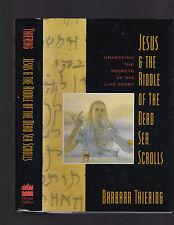 Jesus & The Riddle of the Dead Sea Scrolls, Barbara Thiering, 1992, 1st ed HC DJ