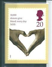 GB-schede PHQ - 1998-Servizio sanitario nazionale-Retro-IED / SHS-COMP. SERIE USATA