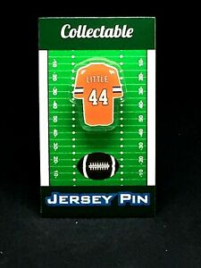 Denver Broncos Floyd Little jersey lapel pin-Classic throwback Collectable