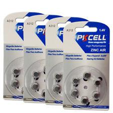 24PCxHearing Aids Batteries Size 312 A312 Zinc Air Battery Exp2019