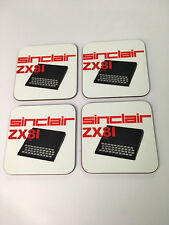 Sinclair ZX81 Early Home Computer enthusiast COASTER SET