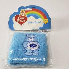 Care Bears Vintage Wristbands NOS Blue Terry Cloth GRUMPY BEAR