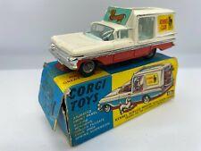 Corgi Toys 486 Chevrolet Impala Kennel Club Service Wagon Vintage Original Boxed