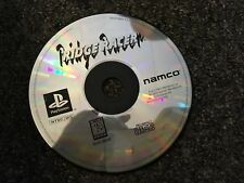 Ridge Racer (Sony PlayStation 1, 1995) PS1 PSX Disc Only Scratched