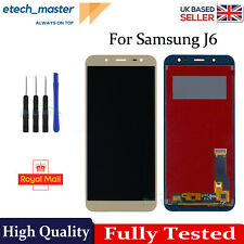 For Samsung Galaxy J6 2018 SM-J600F LCD Touch Screen Digitizer Display Glas Gold
