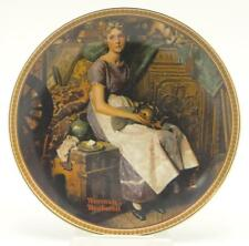 Norman Rockwell Dreaming In The Attic Edwin M Knowles Ceramic Collector Plate