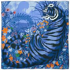 """§§§ Chale shawl cachemire soie Cashmere Silk Hermès neuf  """" Tyger Tyger """" §§§"""